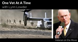 1 Vet at a Time with Marine Veteran Lynn Lowder